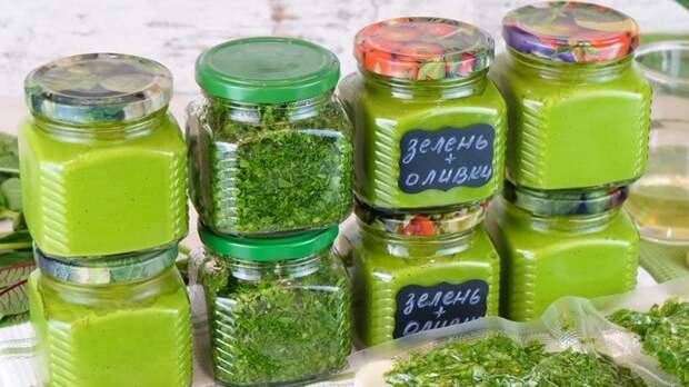 4 отличных способа заготовки зелени на зиму: на все случаи и вкусы