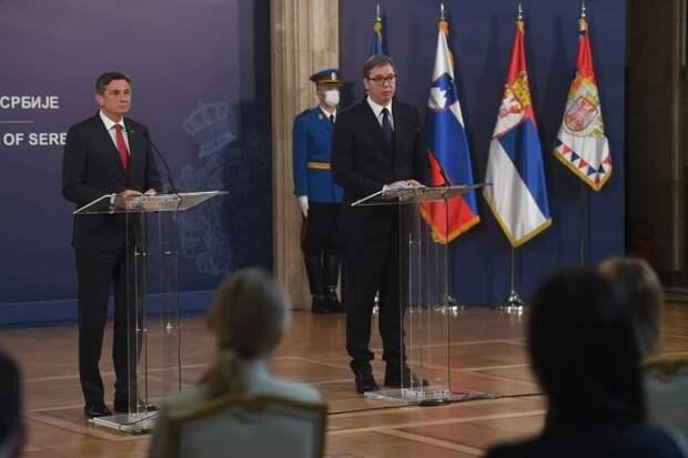 Вучич президенту Словении: «Сербия больше не груша для битья»