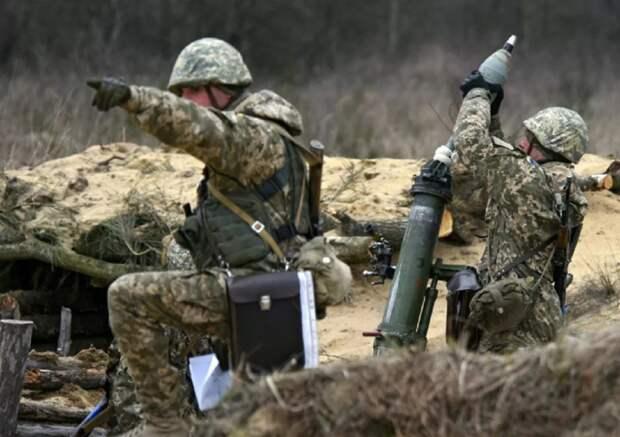 Каратели обстреляли жилой район н.п. Веселое из миномета – НМ ДНР
