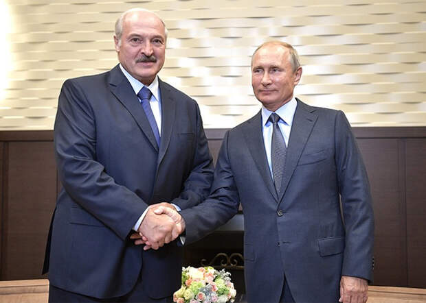 Александр Лукашенко, Владимир Путин (2018)| Фото: kremlin.ru