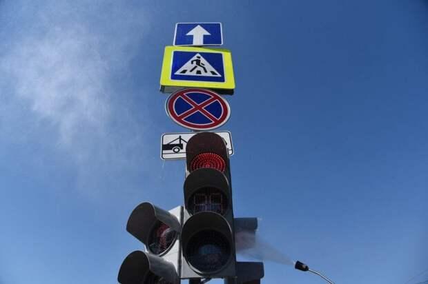 Собянин открыл движение по двум новым автодорогам в ТиНАО. Фото Агентство Москва