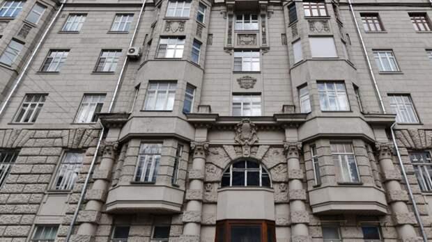 Фасад исторического дома на Поварской улице в Москве капитально отремонтируют