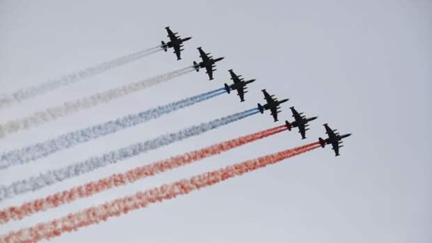 Авиация ЦВО отрепетировала воздушную часть парада Победы в Екатеринбурге