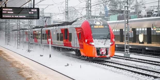На станции Ховрино поезд сбил человека