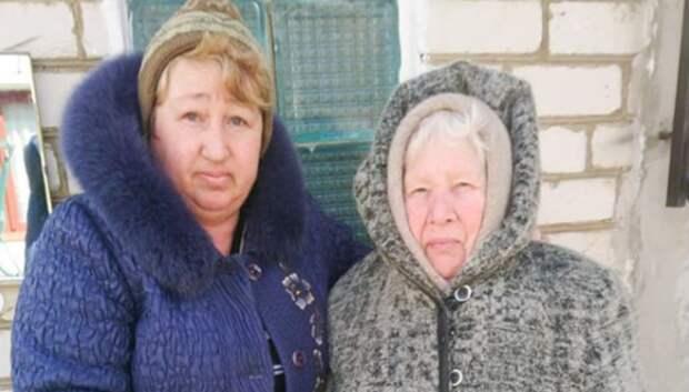 Жительницам деревни Юдино Мытищ доставили продукты по их просьбе