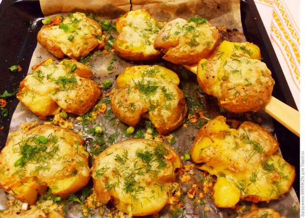 Запеченный картофель на ужин в мини печи Мастерица. 2 Рецепта.