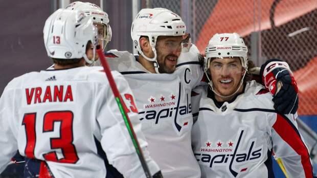 Овечкин стал первой звездой дня в НХЛ