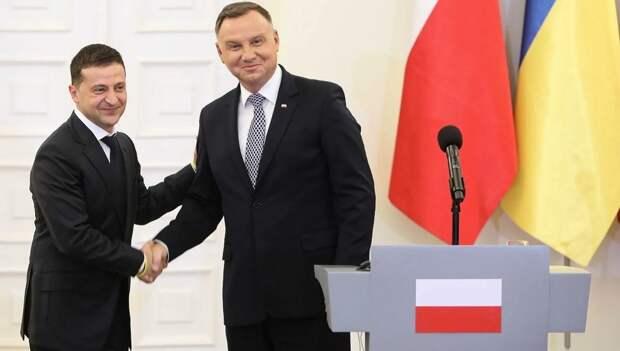 Дуда может: польский президент пообещал Украине вернуть Крым и Донбасс