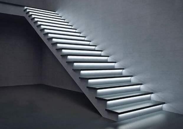 Основные преимущества монолитной бетонной лестницы