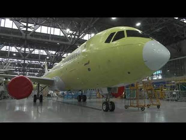 Завершена постройка МС-21-310 с российскими двигателями ПД-14