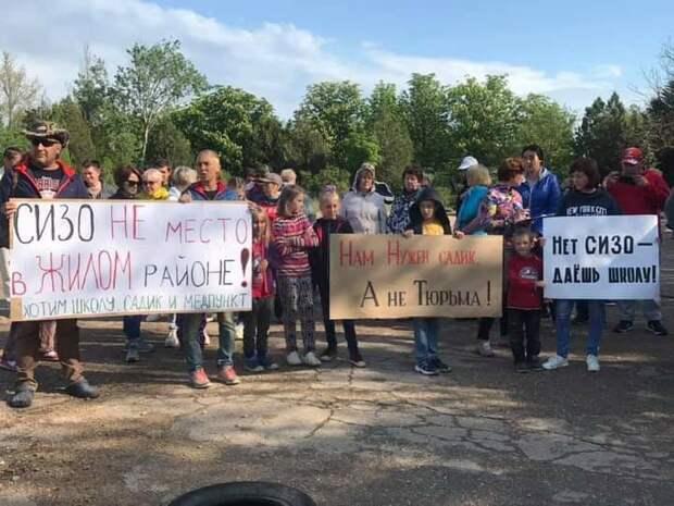 Севастопольцы требуют у Развожаева отказаться от тюрьмы на Фиоленте