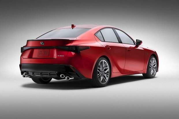 Lexus представил IS 500 F Sport Performance 2022, рассказываю, что изменилось