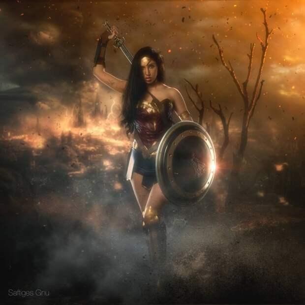 Чудесная Чудо-Женщина (Wonder Woman)