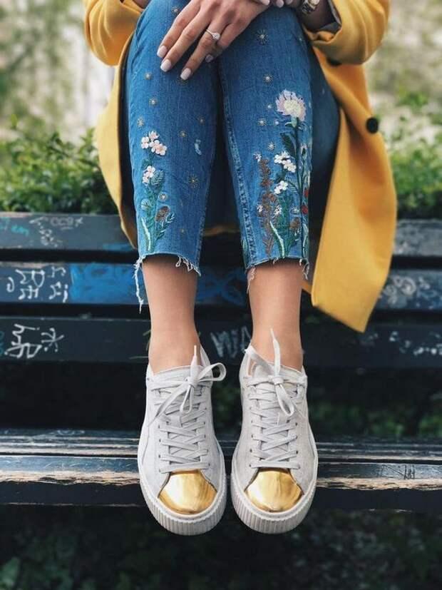 Летние джинсы 2019