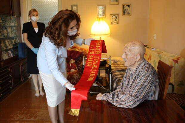 Ветерану ВОВ Владимиру Попову присвоили звание «Почетный гражданин Рязани»