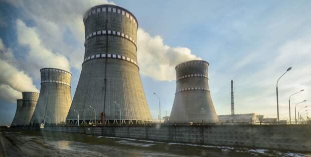 На Ровенской АЭС произошло экстренное отключение