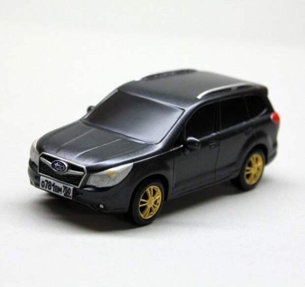 Subaru Forester в масштабе своими руками из дерева