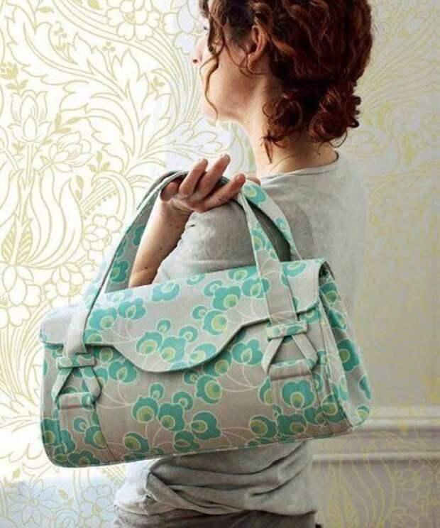 Выкройка модной сумки