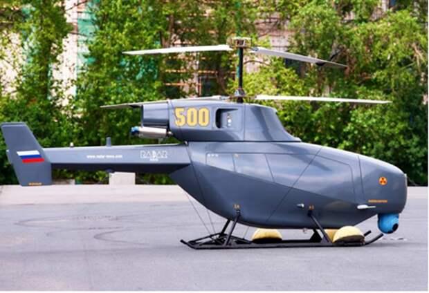 Винтокрылый контр-террорист: БПЛА-вертолет представили на военно-морском салоне в Петербурге