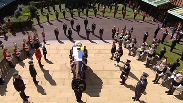 Телетрансляция похорон принца Филиппа вызвала интерес у 13,6 млн британцев