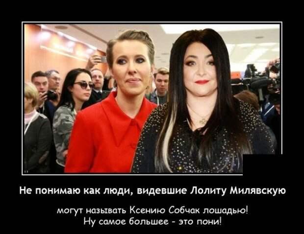 Демотиватор про Собчак