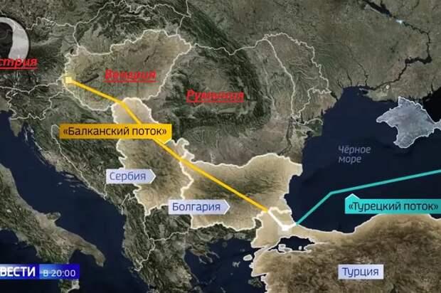 Турецкий поток, балканский поток.png