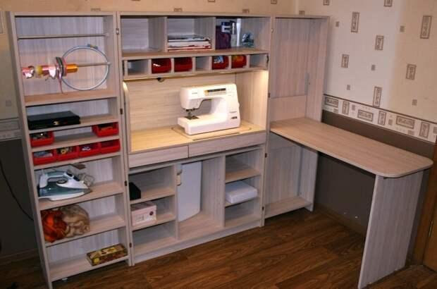 Шкаф для швеи
