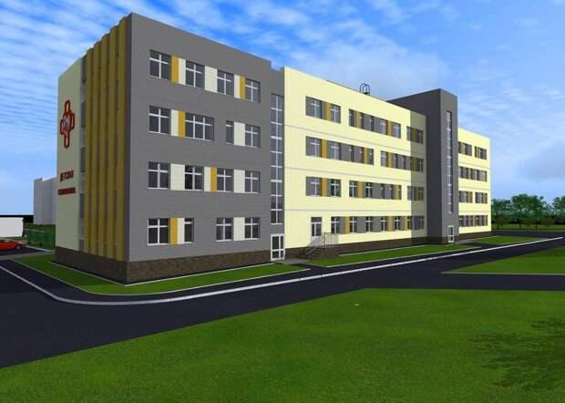 В Можге началось строительство новой детской поликлиники