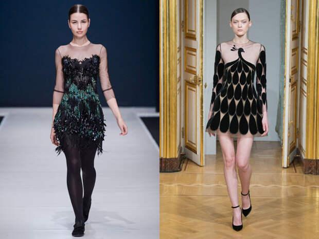 Новогодние мини платья 2017