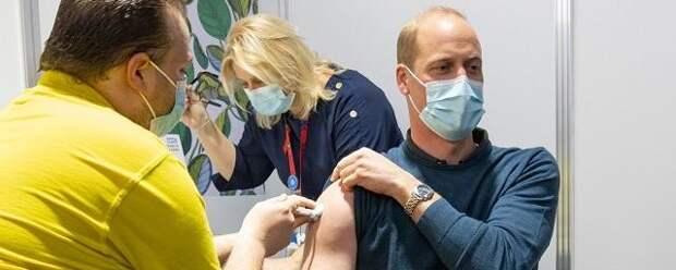 Принц Уильям вакцинировался от COVID-19