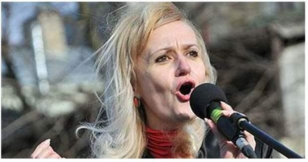 Скандал на ТВ Украины: Фарион - не больная, а завербованная
