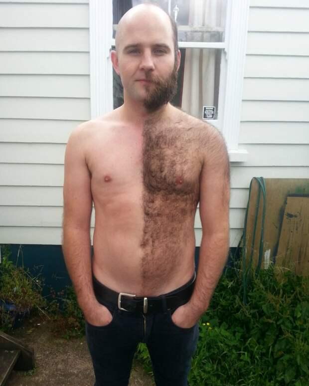 26. Даже круче фото до и после макияжа мужчины впали в детство, смешно, фото