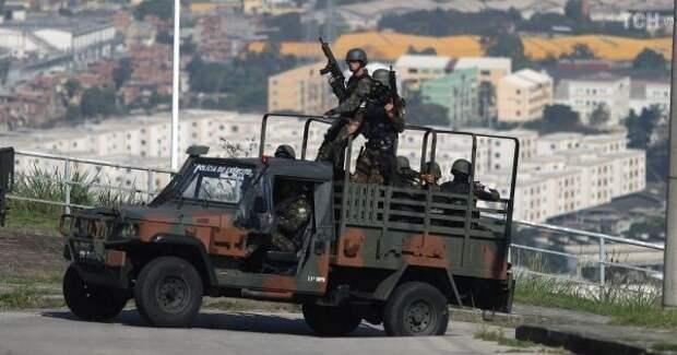 Количество жертв полицейской операции вБразилии выросло до28 человек