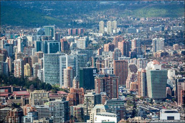 Sky Costanera - самое высокое здание в Латинской Америке
