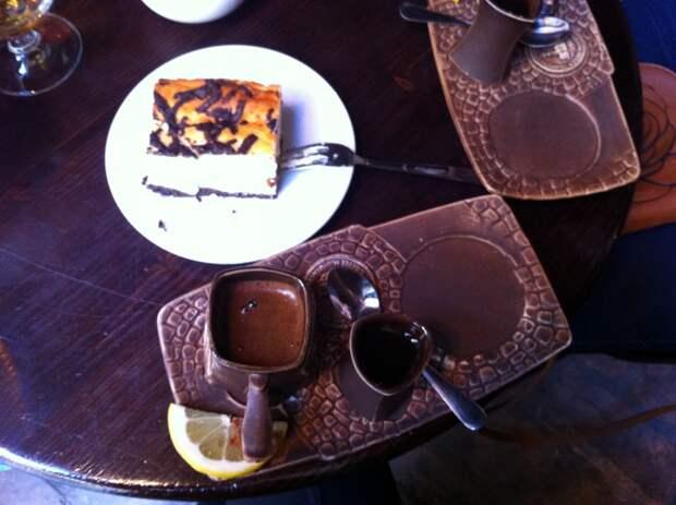Блюда из меню Львовской копальни кофе