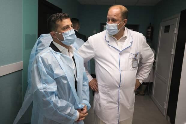 Зеленский мог привиться российской вакциной от COVID-19