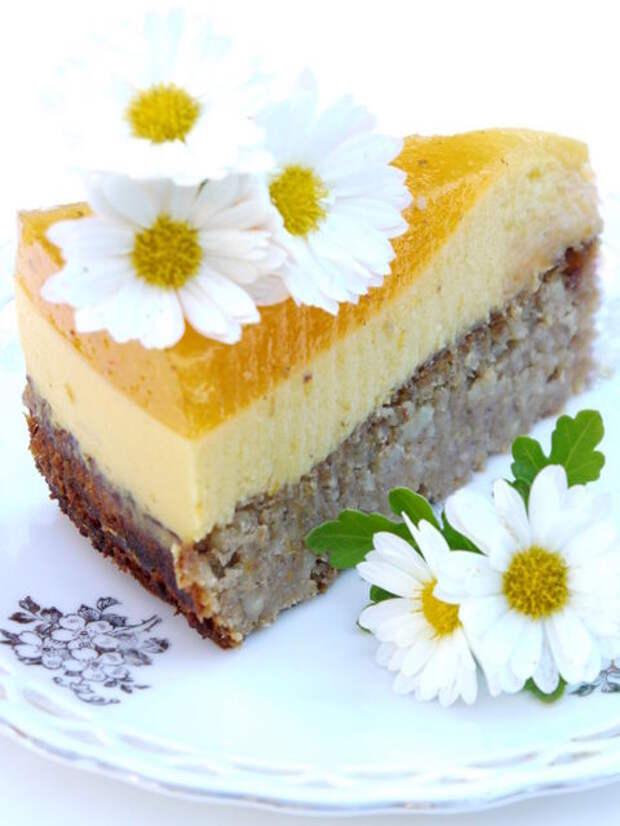 """Торт из хурмы """"Персимон"""""""