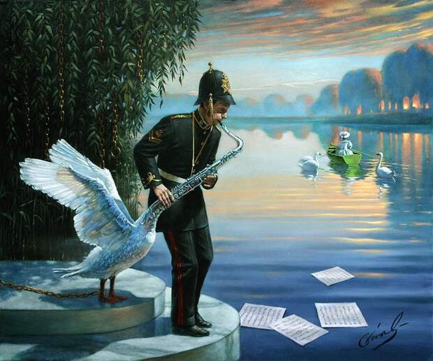 Невероятные картины Михаила Хохлачева