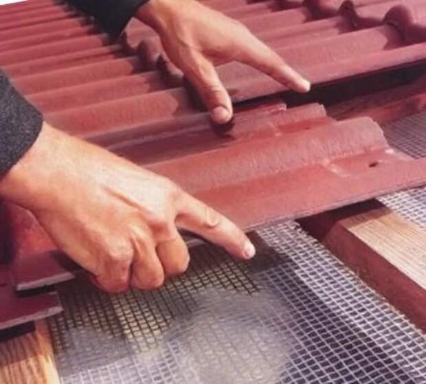 Монтаж керамочерепицы своими руками