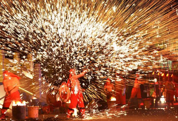 Новый год в провинции Шаньдун, Китай