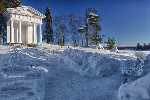 Во вторник и среду в Ленобласти ожидается снегопад, метель и мороз до -32