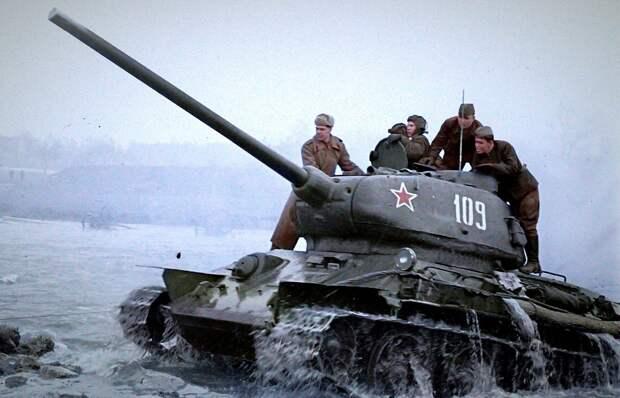 """Немцы писали: """"Наступает бандитско-жидовский танковый корпус""""."""
