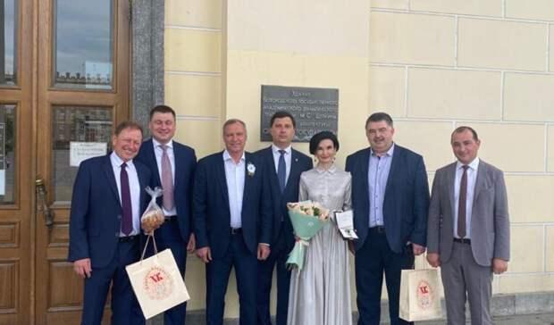 Наталию Зубареву наградили завклад вборьбу сновой коронавирусной инфекцией