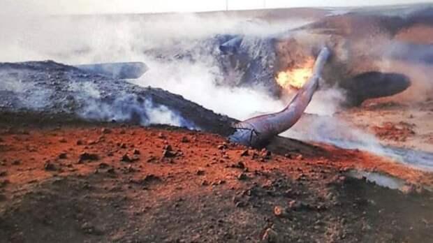 Из-за взрыва на оренбургском трубопроводе пять сёл остаются без газа
