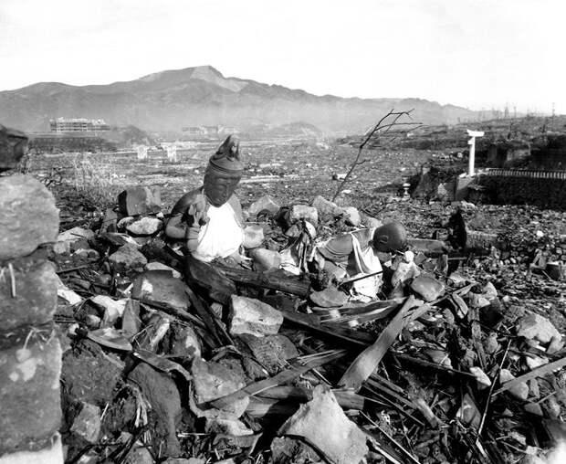 Нагасаки в руинах