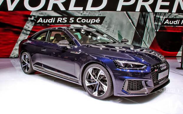 Смена концепции: Audi представила свирепый спорткар RS5 Coupe