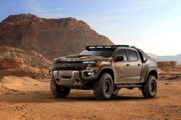 Подкрался незаметно: Chevrolet разработала необычный пикап для боевых действий