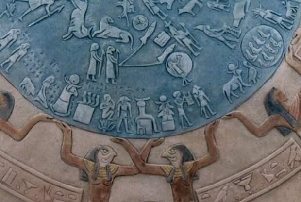 Дендерский Зодиак - один из самых древних астрономических посланий, оставленных человечеству