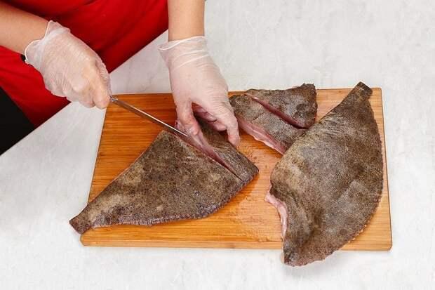 Подготовка рыбы для разделки на филе