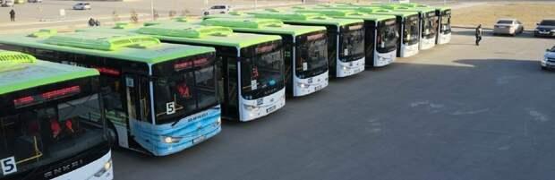 Жители Актау смогут бесплатно ездить на автобусах